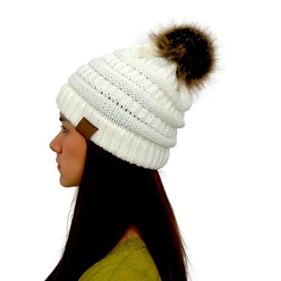 Winter hat white